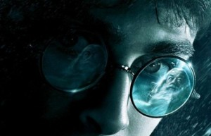 Extreme Close up from Harry Potter